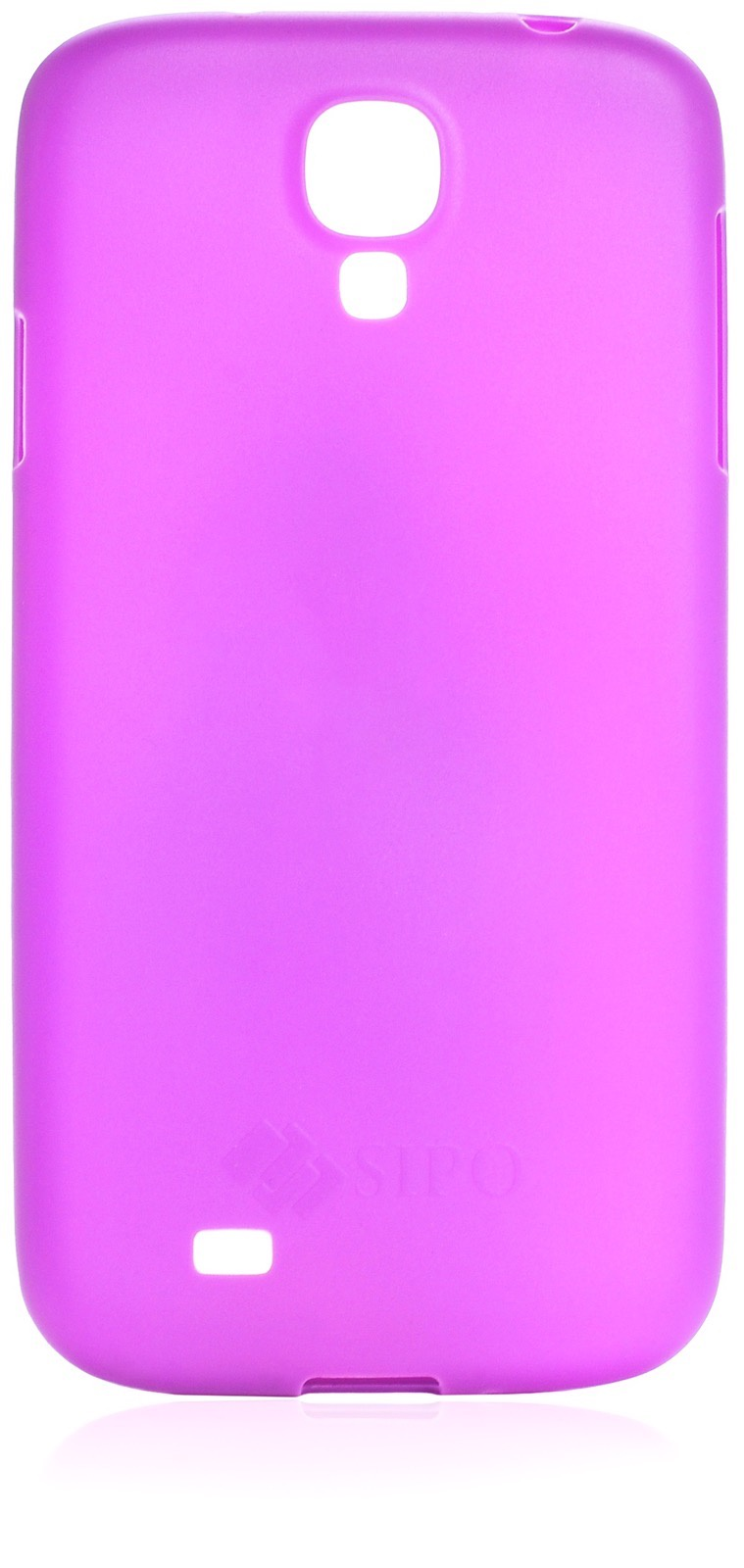 Чехол накладка iNeez Sipo силикон 450187 для Samsung Galaxy S4,450187,фиолетовый