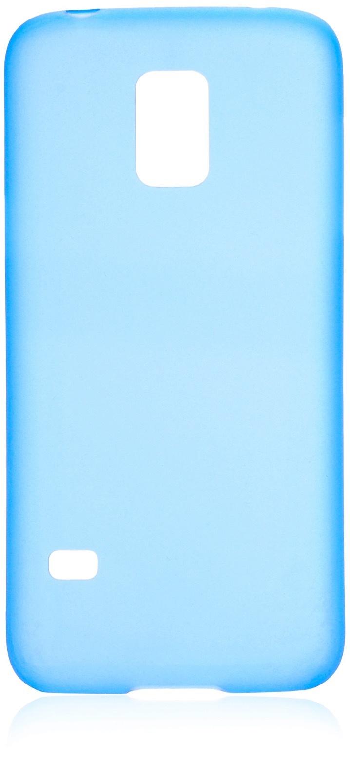 Чехол накладка iNeez пластик 0.3 мм 570003 для Samsung Galaxy S5 mini,570003, синий