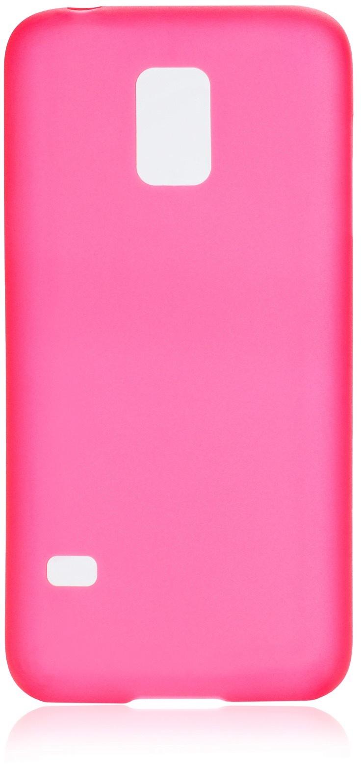 Чехол накладка iNeez пластик 0.3мм 570010 для Samsung Galaxy S5 mini,570010, красный