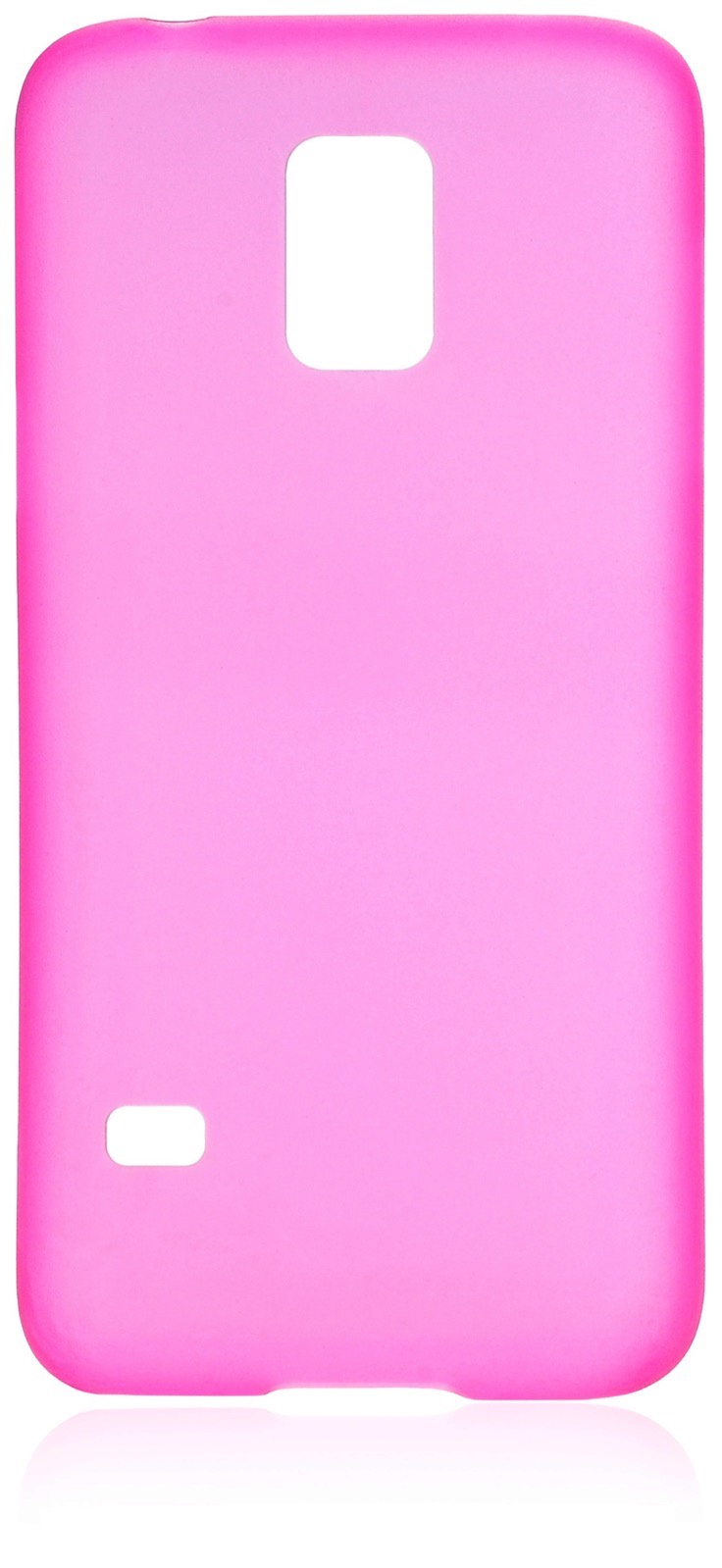 Чехол накладка iNeez пластик 0.3мм 570004 для Samsung Galaxy S5 mini,570004, малиновый