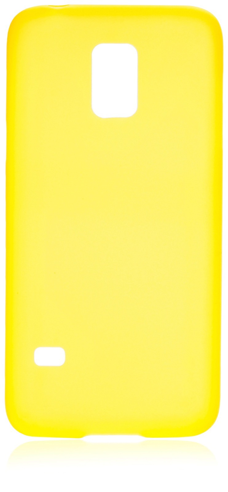 Чехол накладка iNeez пластик 0.3 мм 570001 для Samsung Galaxy S5 mini,570001, желтый