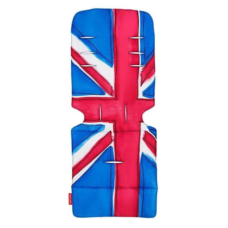 Maclaren матрасик в коляску Union Jack Princess Blue