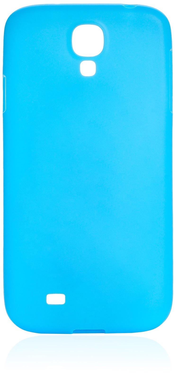 Чехол накладка iNeez Sipo силикон 450188 для Samsung Galaxy S4,450188,голубой