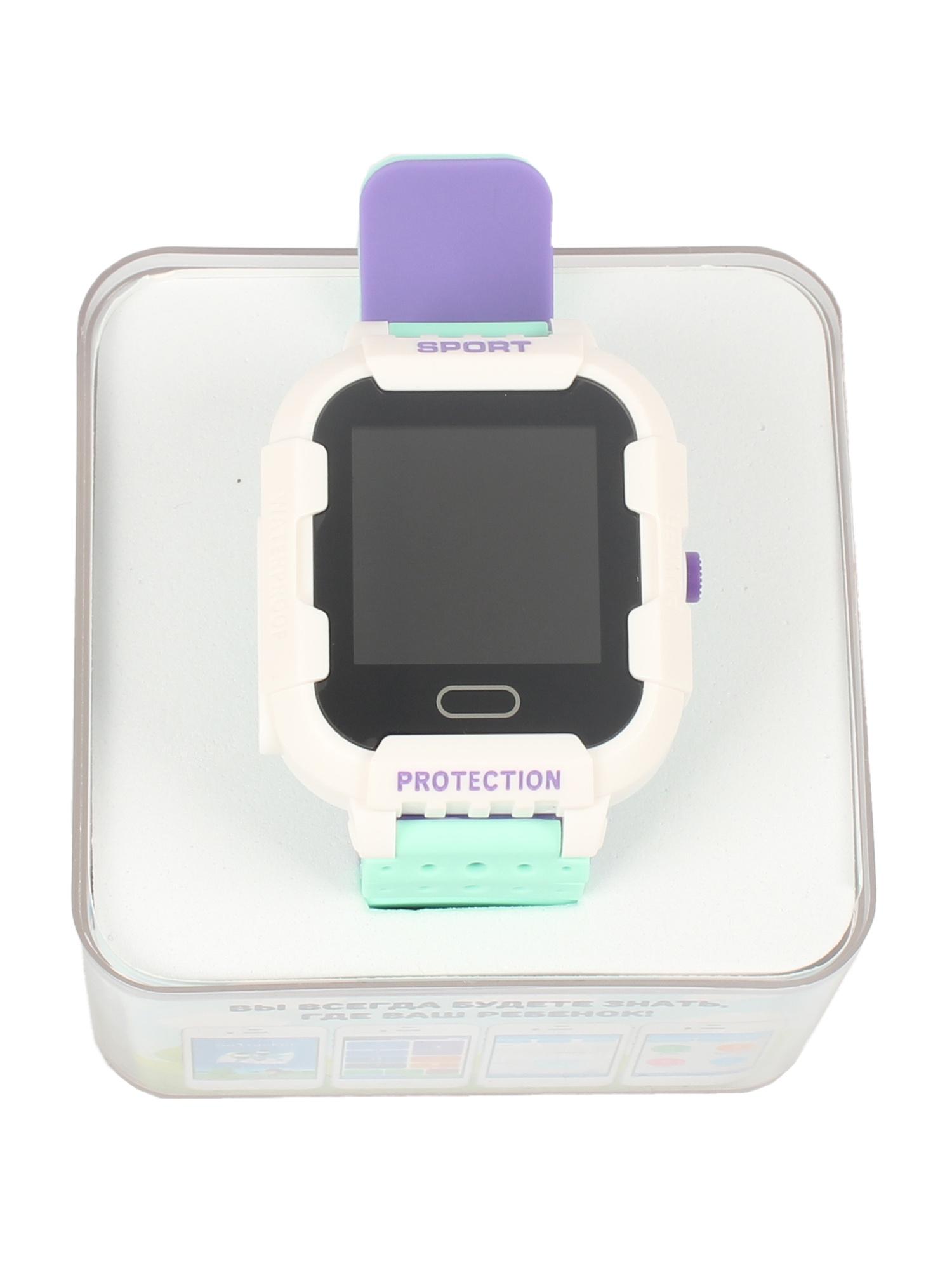 Детские умные часы-телефон КТ03 IP67 TipTop Белый,зеленый, фиолетовый телефон доверия бесплатно круглосуточно