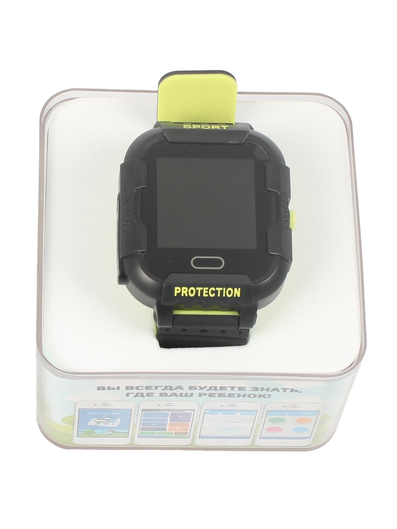 Детские умные часы-телефон КТ03 IP67 TipTop Черные, зеленые телефон доверия бесплатно круглосуточно