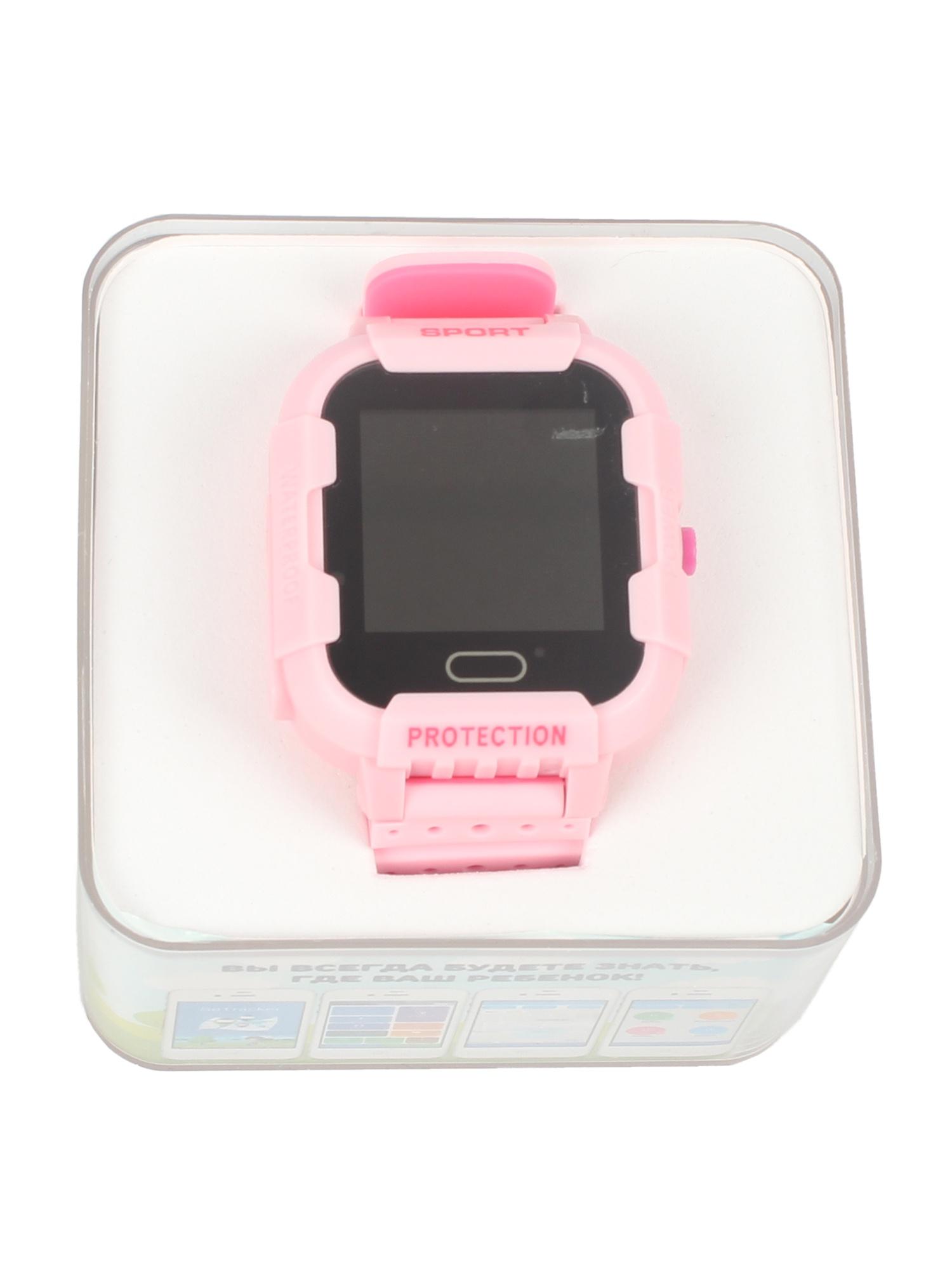 Детские умные часы-телефон КТ03 IP67 TipTop Розовые, темно-розовые телефон доверия бесплатно круглосуточно