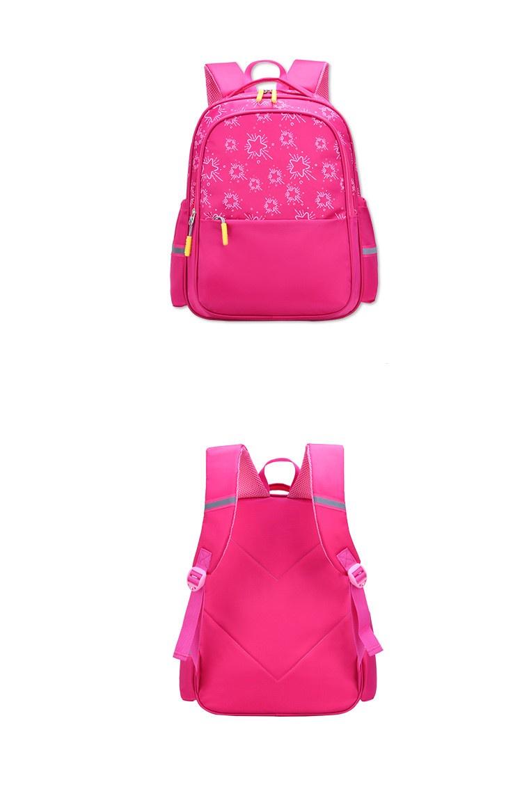 Рюкзак детский Звезды, розовый