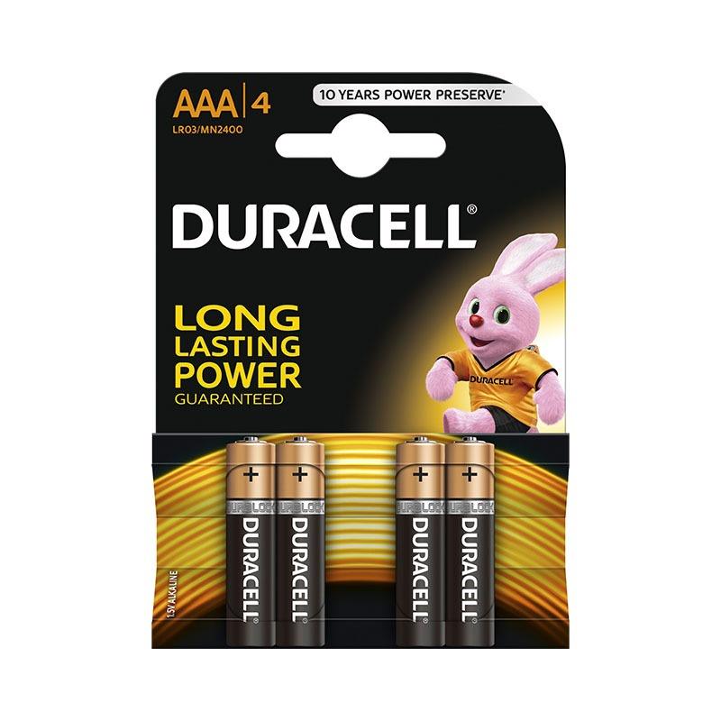 Дюраселл (Duracell) батарейка 4-х шт AAA (миз.) mn 2400 цена