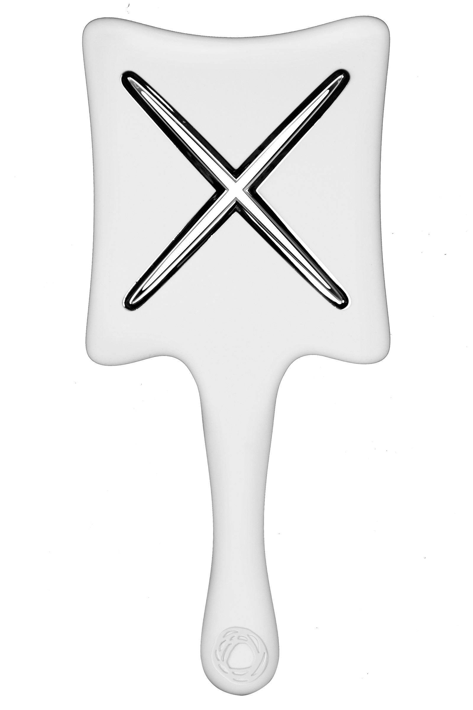 Ikoo Paddle X Расческа для волос Platinum White