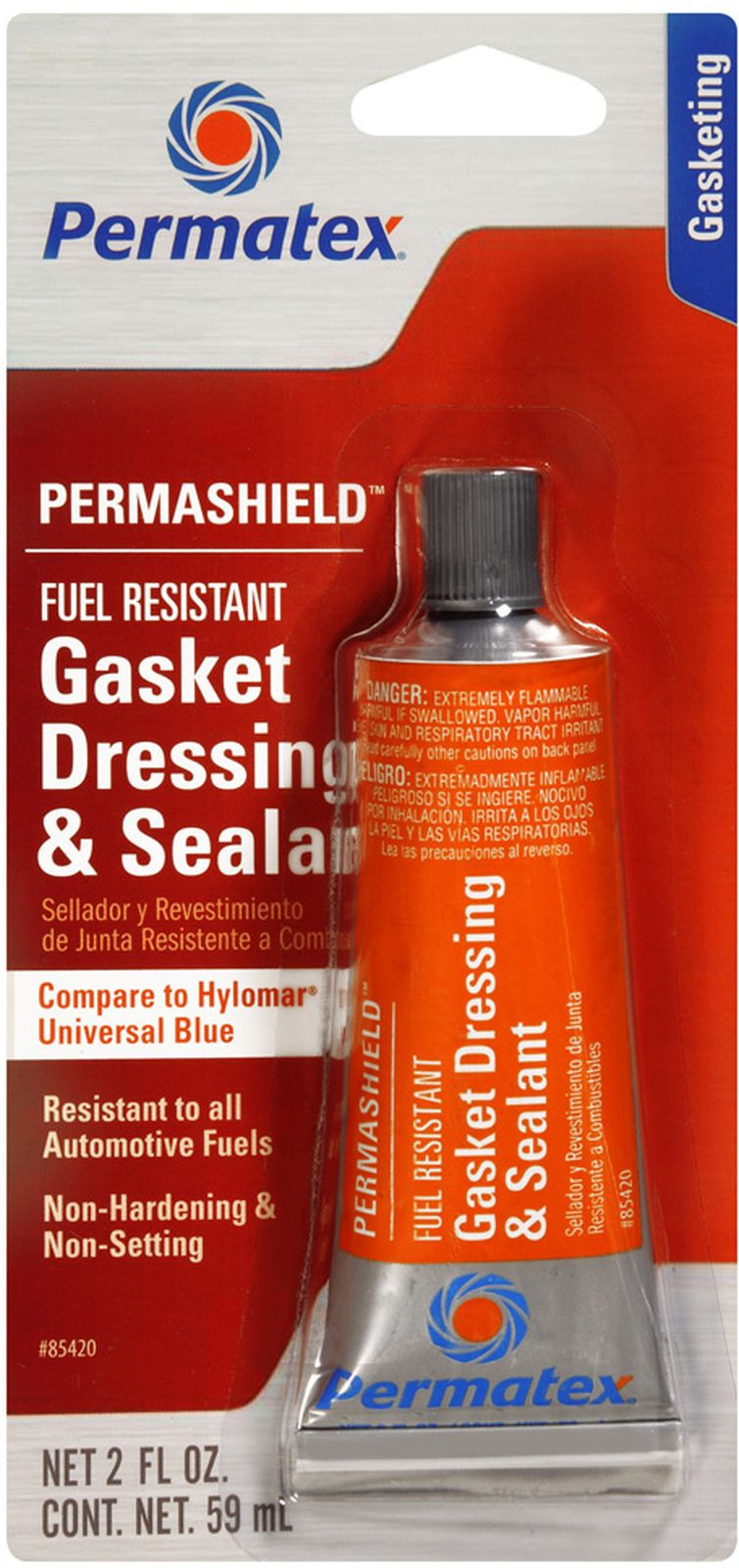 Уплотнитель прокладок Permatex, бензостойкий, 59 мл 770044 насос топливный era характеристики