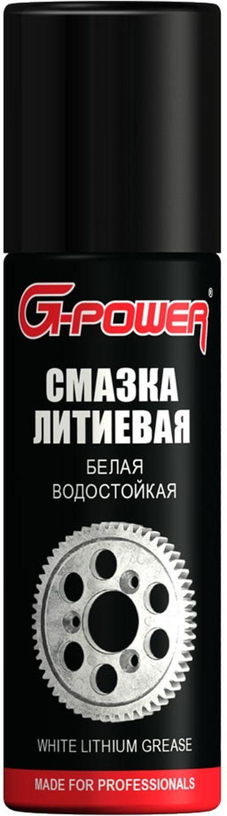 Смазка G-Power, белая, литиевая, с тефлоном, 90 мл