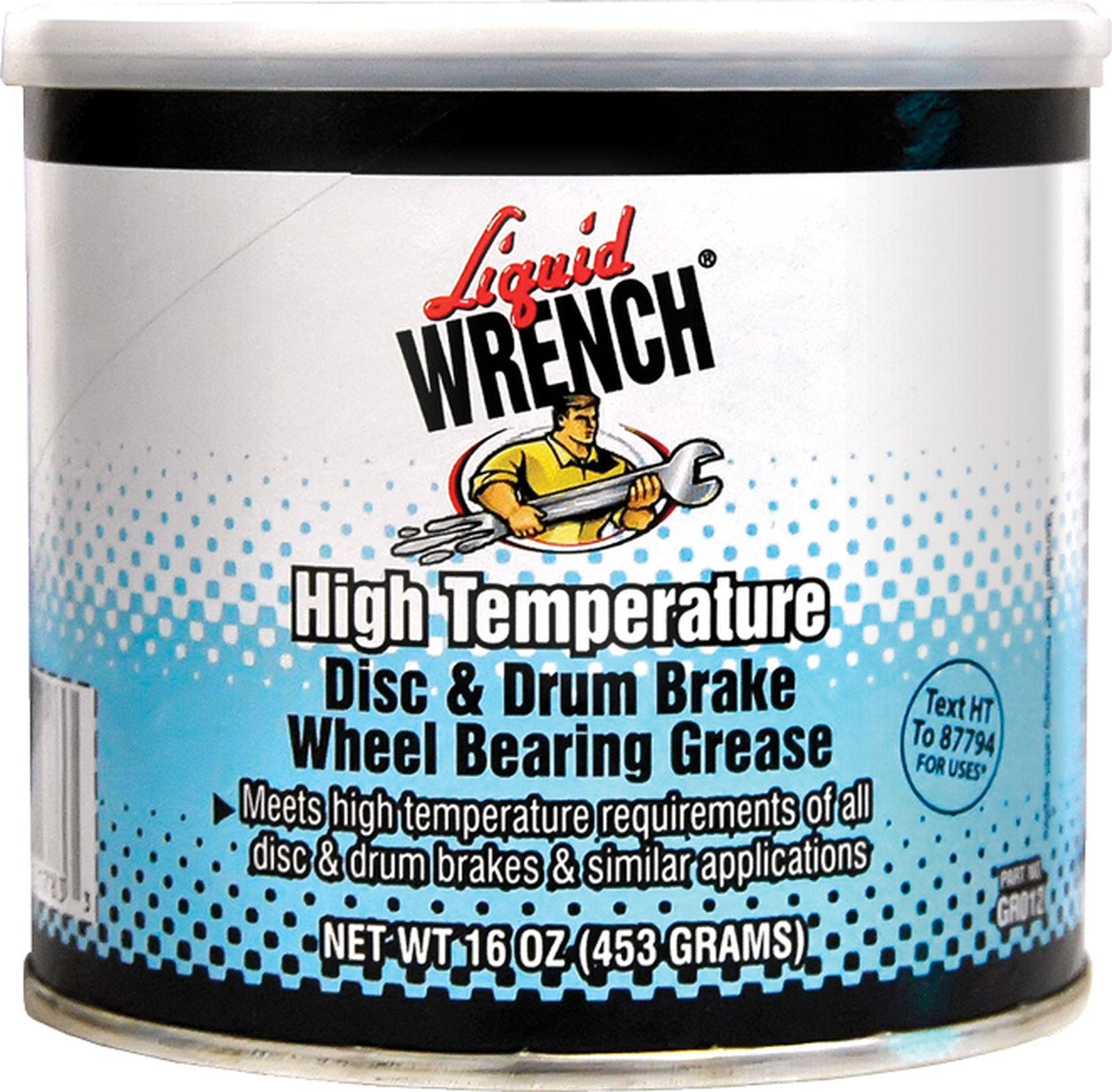 Смазка Gunk, синяя, высокотемпературная, для подшипников дисковых и барабанных тормозов, 500 мл