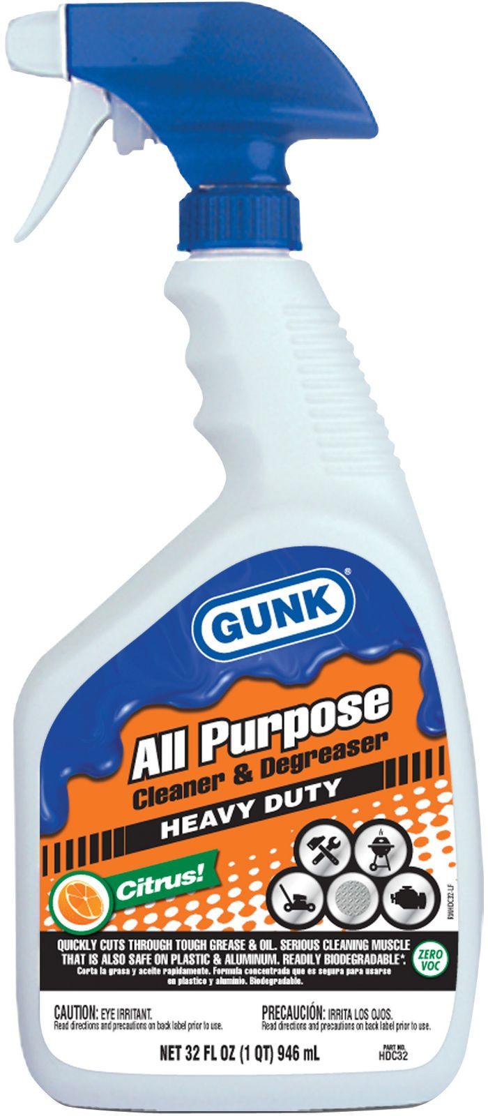 Очиститель грязи Gunk, универсальный, с ароматом цитрусовых, 946 мл