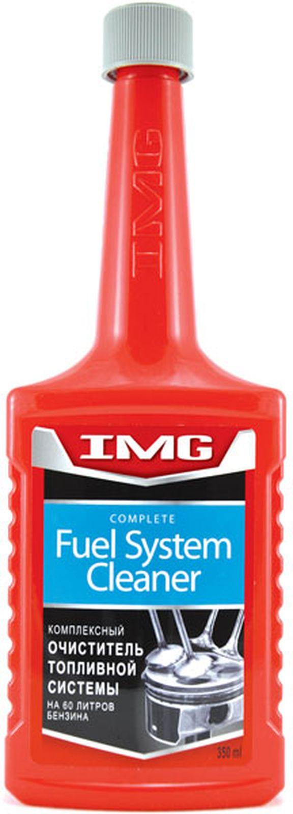 Очиститель топливной системы IMG, комплексный, на 60 л, 350 мл
