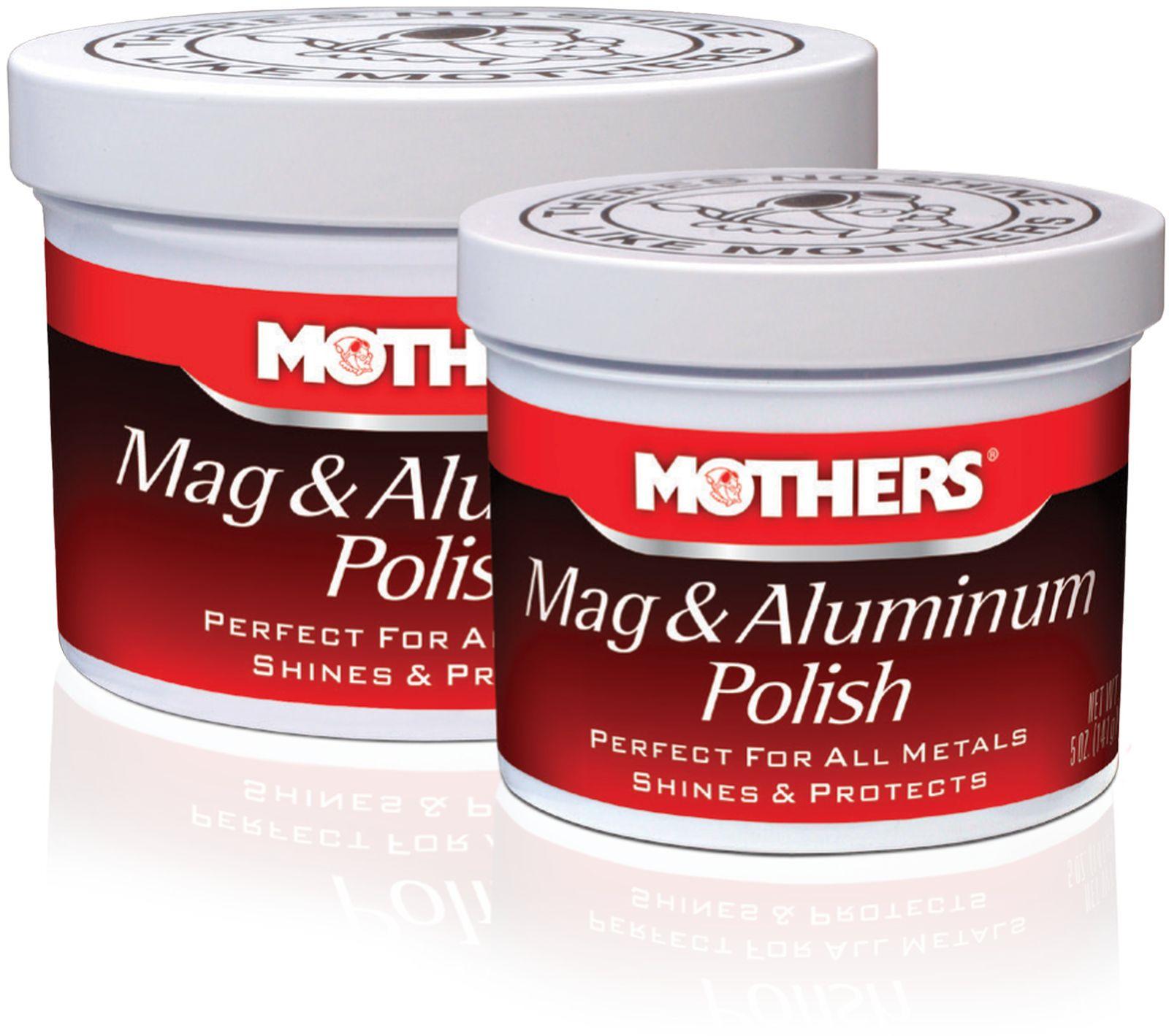 Полироль Mothers, для алюминиевых и магниевых деталей, 142 г