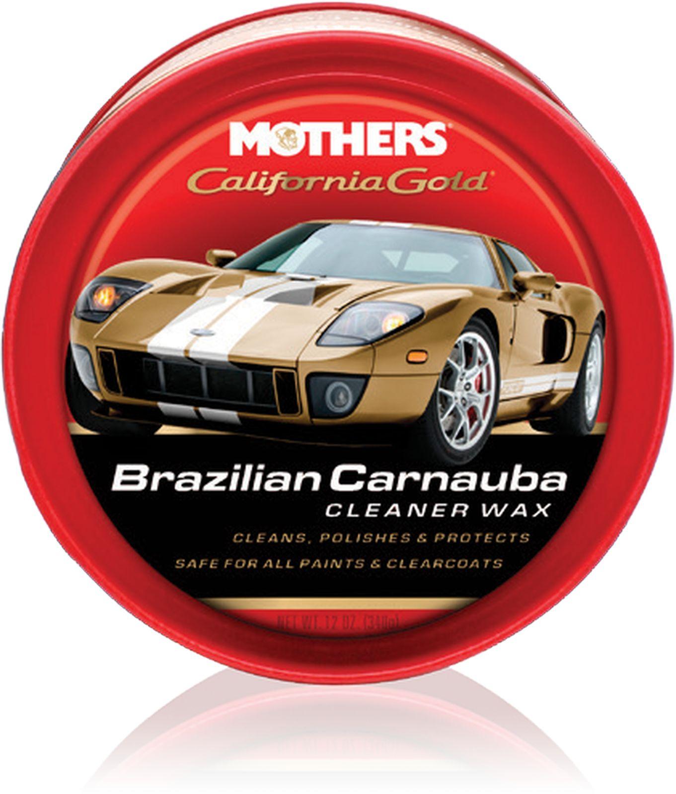 Полироль Mothers Калифорния Голд, с воском, 340 г