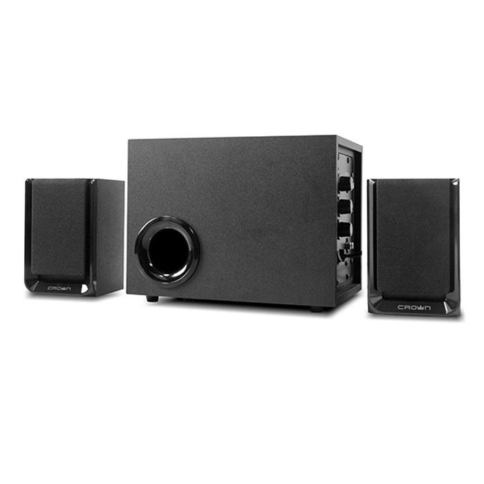 лучшая цена Акустическая система 2.1 CROWN CMS-410 Black (40)W