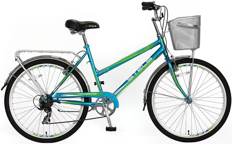 Дорожный велосипед STELS Navigator 250 Lady (2016) (золото/голубой)