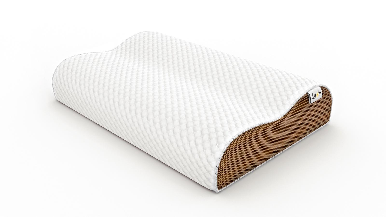 Подушка ортопедическая Darwin Air 1.0 подушки homedics ортопедическая подушка memory foam luxury box