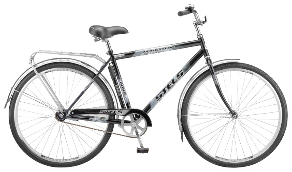 Дорожный велосипед STELS Navigator 300 Gent (2016) (черный)