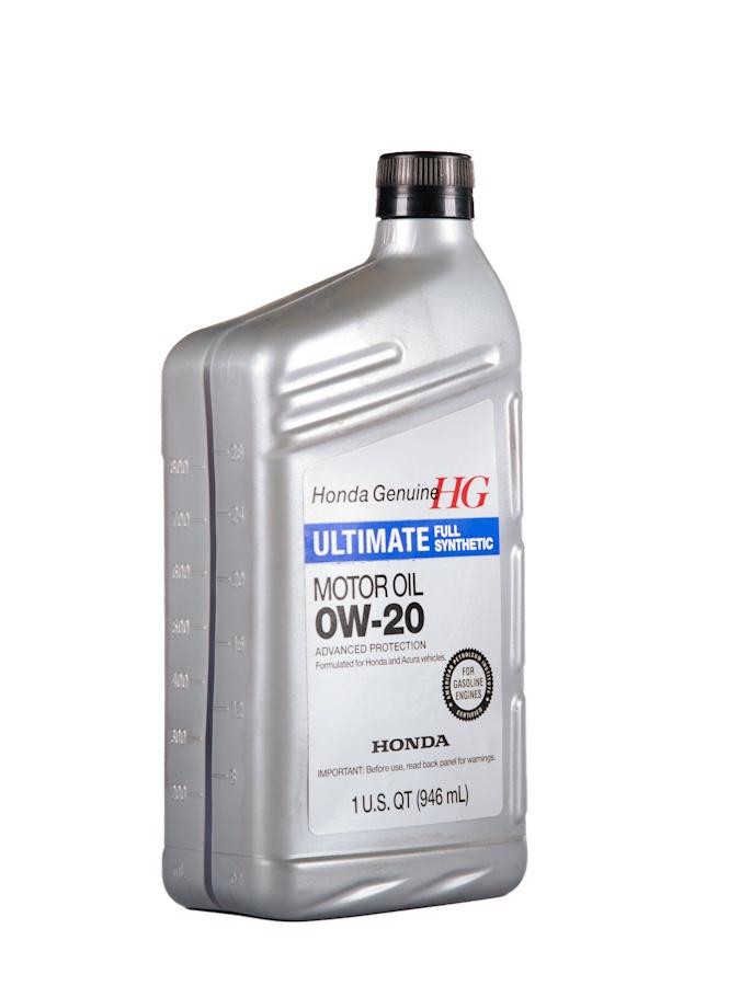 Масло моторное Honda Synthetic Blend SAE 0W20 SN 0,946 л