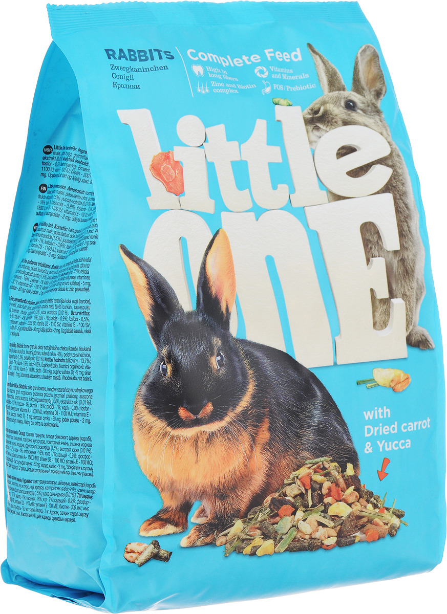 Корм для кроликов Little One, 900 г корм для кроликов little one 900 г