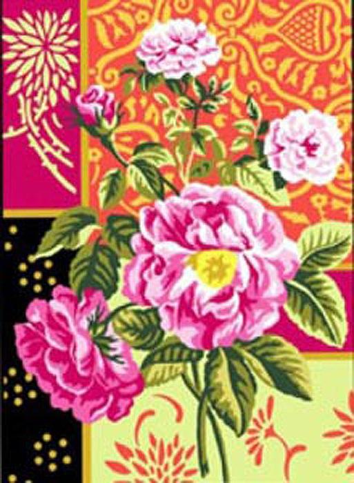 Канва с нанесенным рисунком Florilege (40 х 50 см.) lermitage florilege dun grand musee