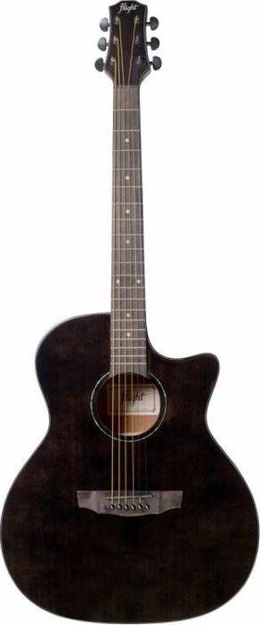 Акустическая гитара Flight Ga-150 Tbk Grand Auditorium, черный
