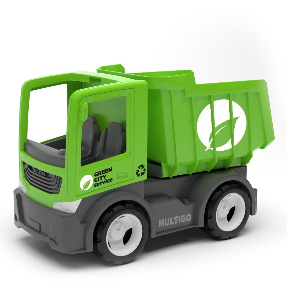 Городской грузовик самосвал грузовик orion самосвал и шары 38 5 см разноцветный 471в2