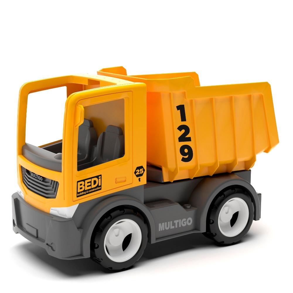 Строительный грузовик-самосвал