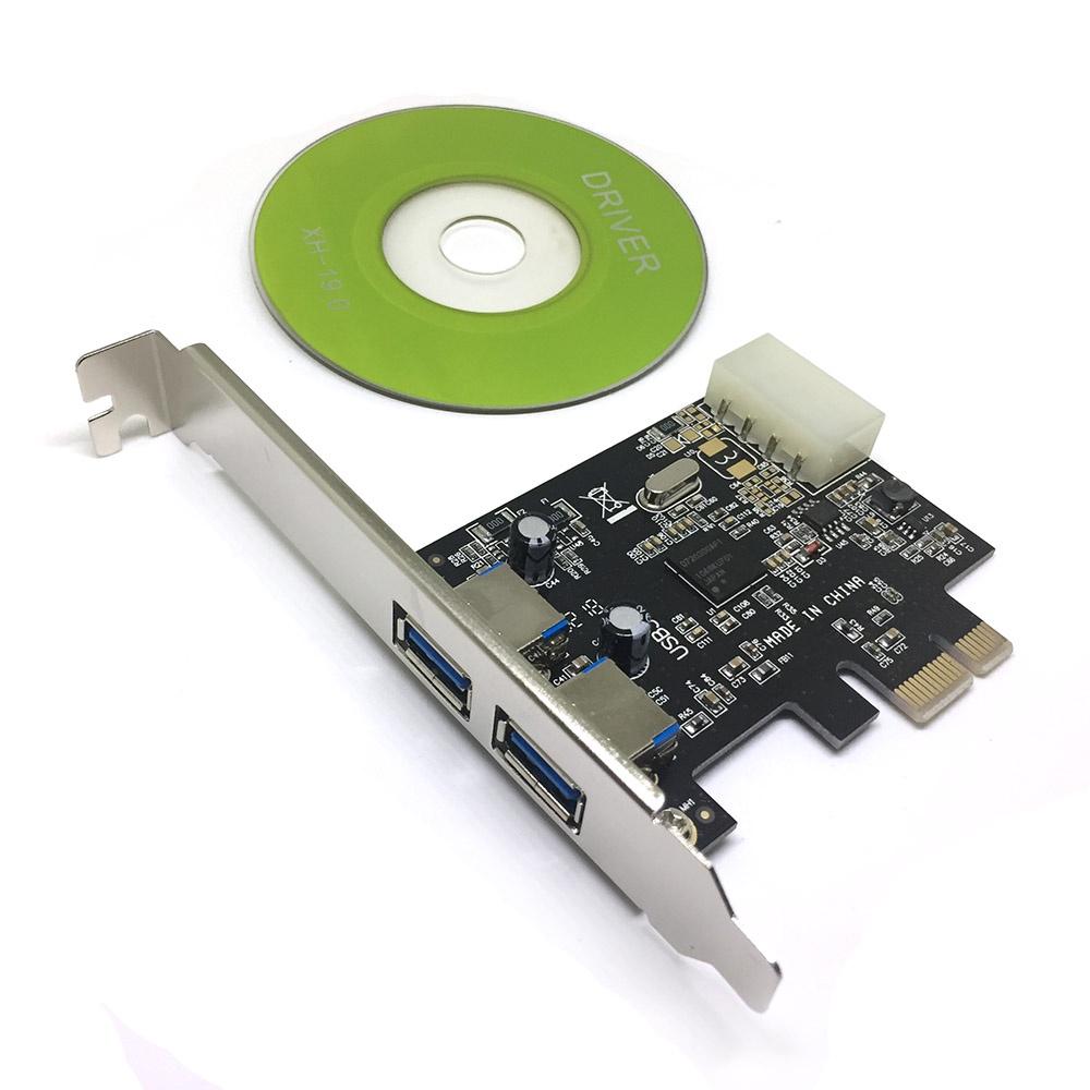 EU30A, Контроллер PCI-E, USB3.0 2 внешних порта, Espada