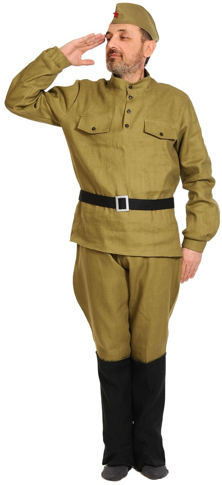 Карнавалофф Карнавальный костюм Солдат ВЗРОСЛЫЙ недорго, оригинальная цена