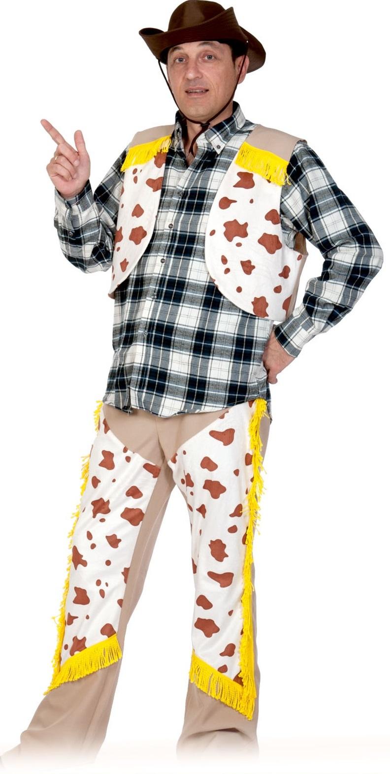 Карнавалофф Карнавальный костюм Ковбой ВЗРОСЛЫЙ недорго, оригинальная цена