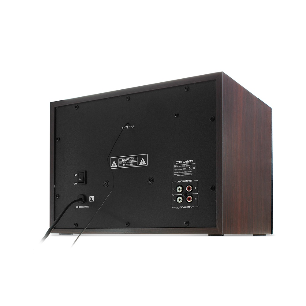 лучшая цена Акустическая система 2.1 CROWN CMS-3800