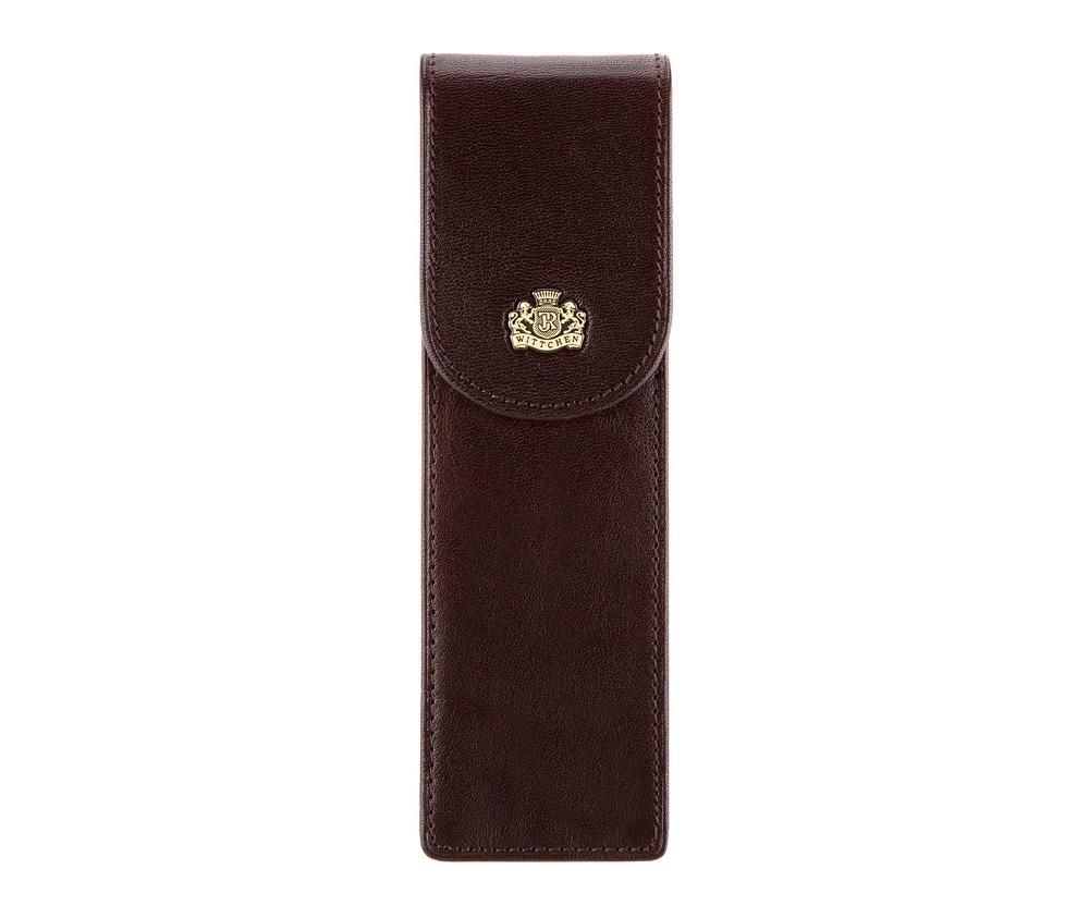 Футляр для ручек Wittchen 10-2-169-4, цвет коричневый