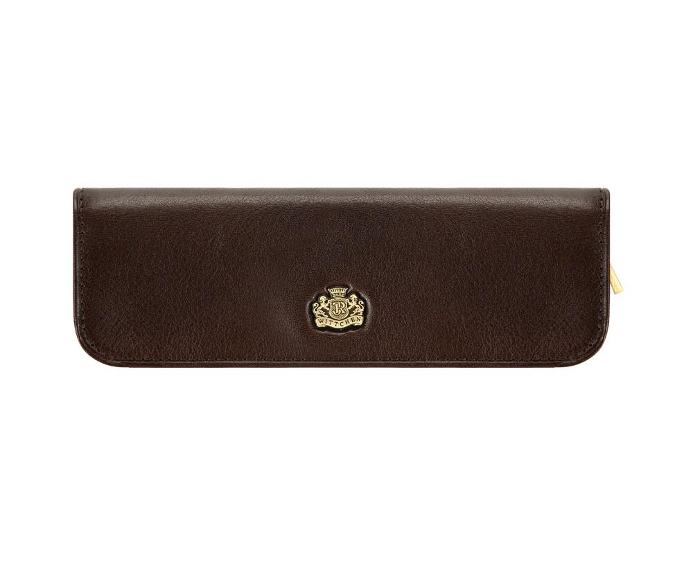 Футляр для ручек Wittchen 10-2-001-4, цвет коричневый
