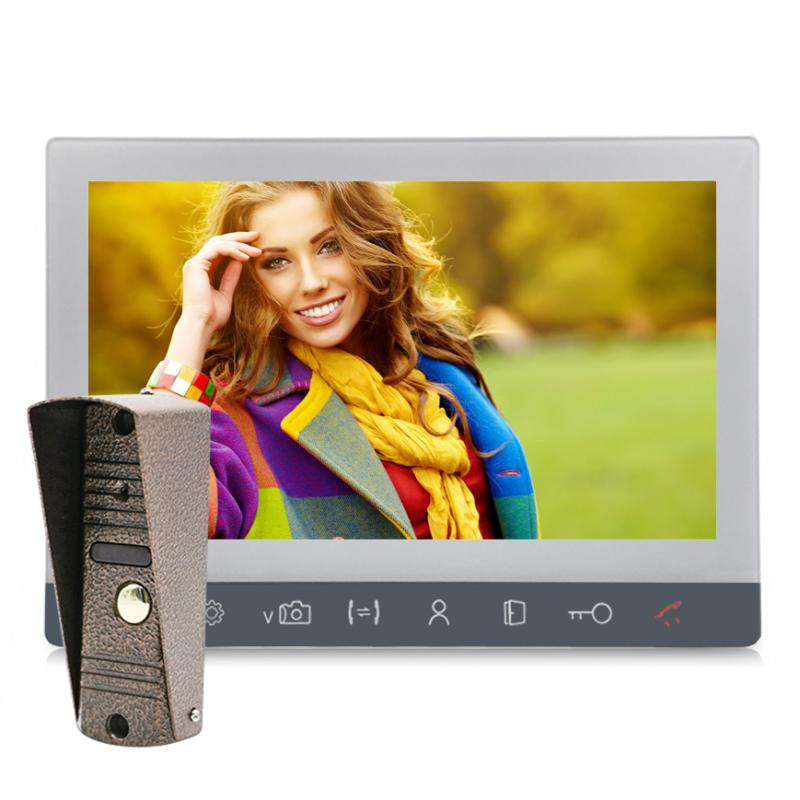 Комплект видеодомофона Комплект видеодомофон 10 с вызывной панелью 2Мп (Адмирал) комплект видеодомофона commax cdv 71am с вызывной панели avр 508 монитор 7 1 дюйм