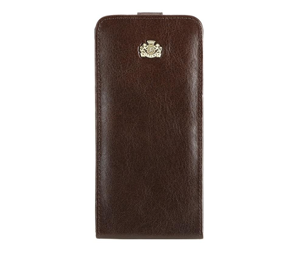 Чехол для телефона Wittchen 10-2-502, темно-коричневый