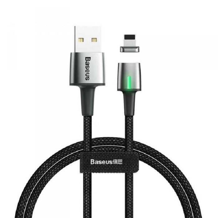 Кабель магнитный Baseus Zinc Magnetic Cable USB For iP 1.5A 2m Black