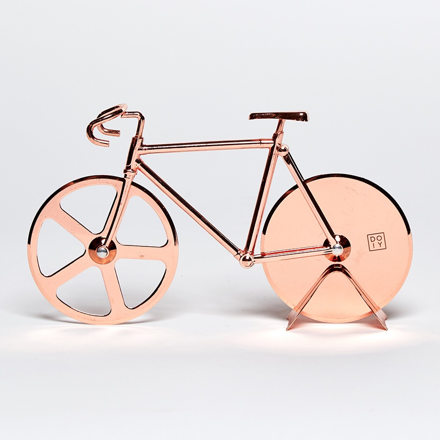 Нож для пиццы Doiy, медь подставка для хранения велосипеда
