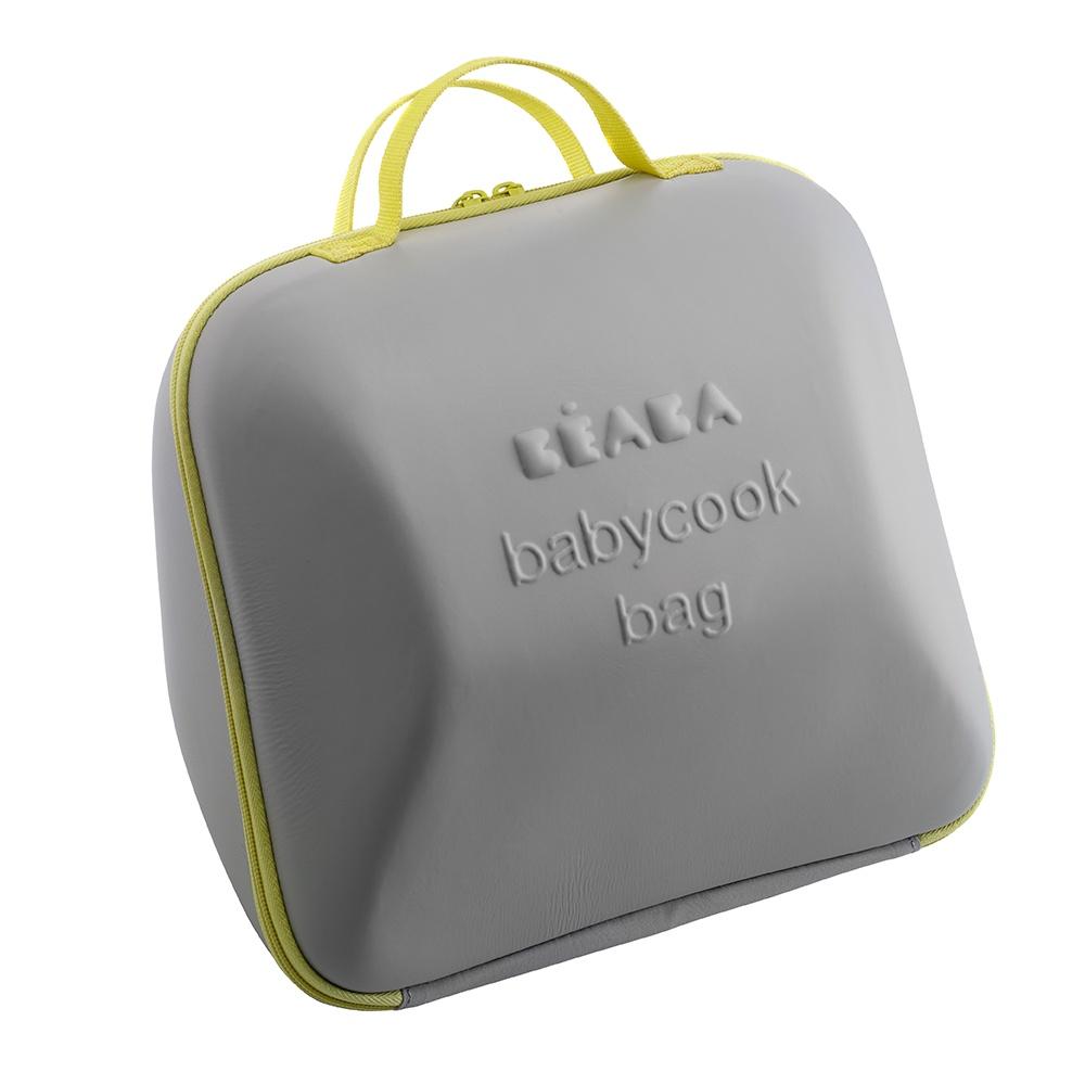 Beaba сумка для блендера-пароварки Babyсook цвет серый с желтым beaba сушка для бутылок