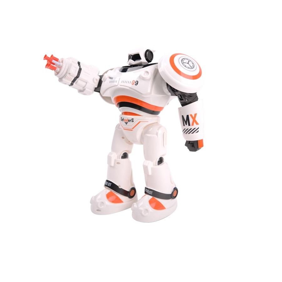 Радиоуправляемый робот CRAZON цвет белый оранжевый