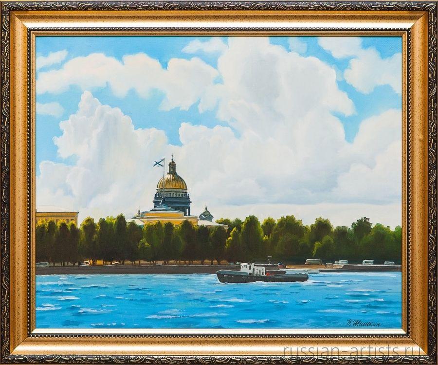 Картина маслом Солнечный день Шишкин кирилл шишкин освобождение 2