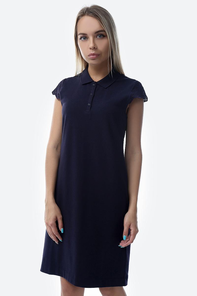 цена на Платье S.Oliver Red Label, цвет: голубой. 14.904.82.2010_5959. Размер 40 (46/48)