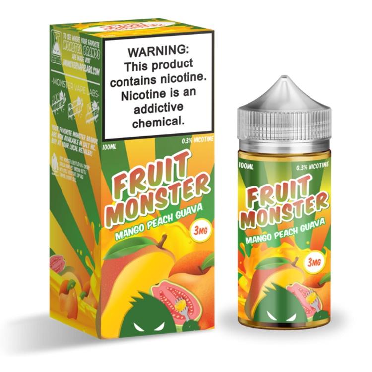 Fruit Monster Mango Peach Guava, Жидкость для вейпа цена
