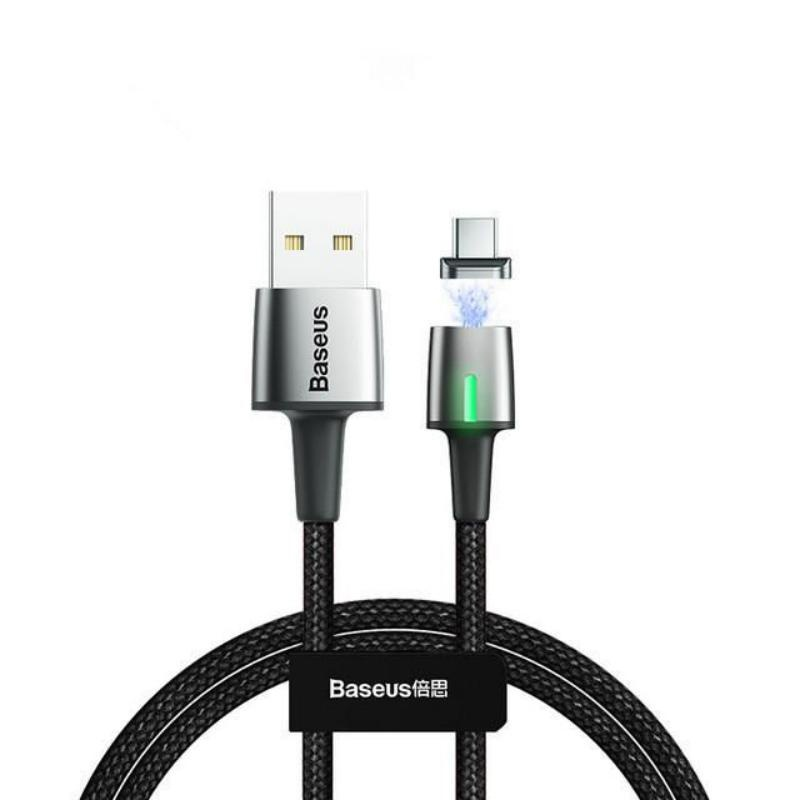 Кабель магнитный Baseus Zinc Magnetic Cable USB For Type-C 2A 2m Black