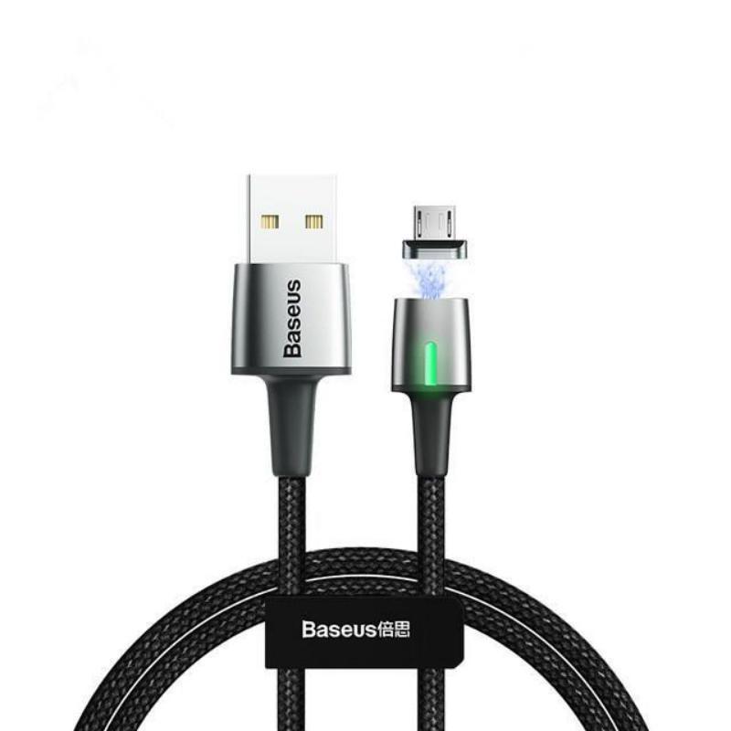 Кабель магнитный Baseus Zinc Magnetic Cable USB For Micro 2.4A 1m Black