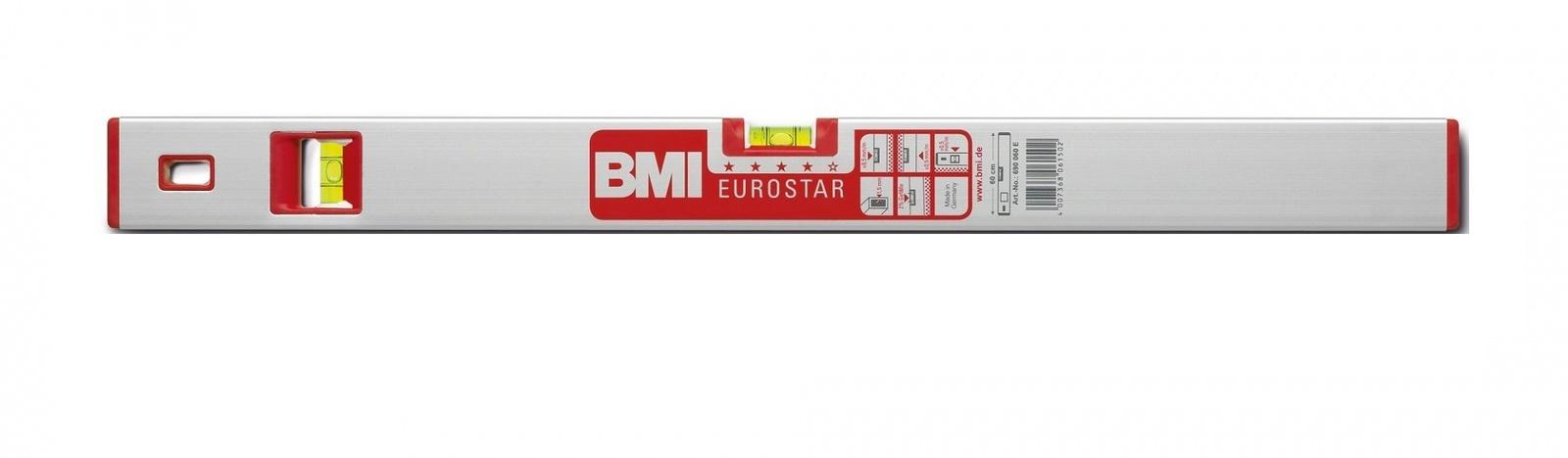 Уровень противоударный EUROSTAR 400 мм угол 2град. BMI 690040E
