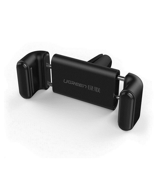 Автомобильный держатель Ugreen Air Vent Mount Phone Holder Black-Black
