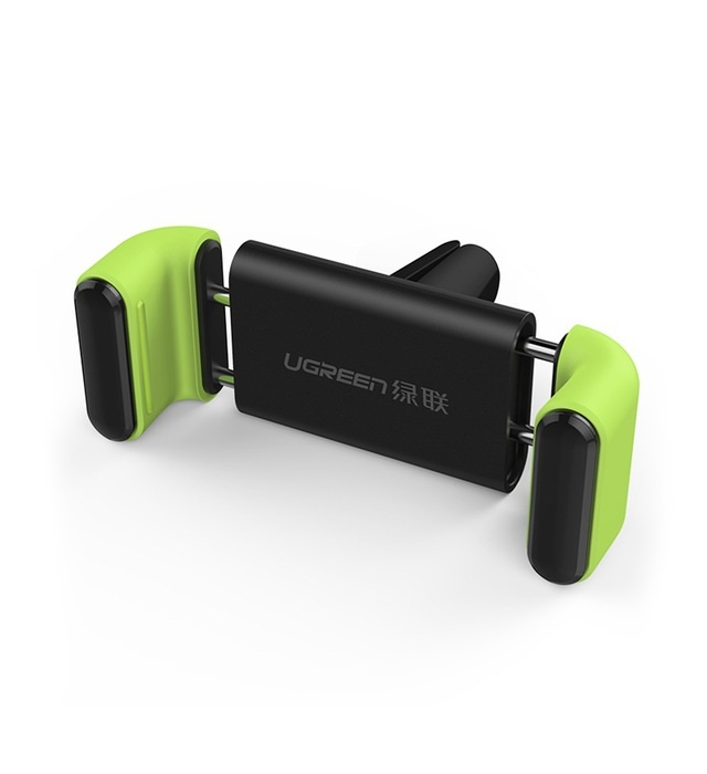 Автомобильный держатель Ugreen Air Vent Mount Phone Holder Black-green